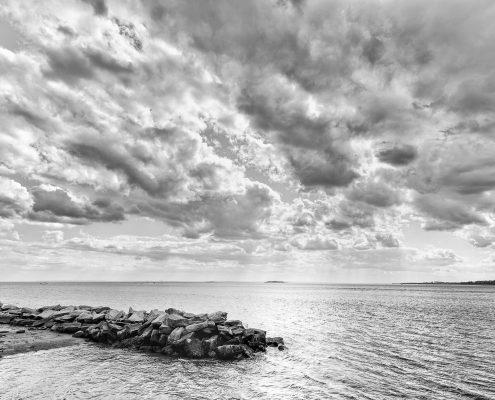 Killer Joe Photography - Hudson River - Black and White